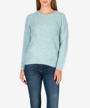 Giovanna Cable Knit Sweater-New-Kut from the Kloth