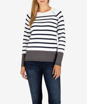 Naomi Raglan Sleeve Sweater-New-Kut from the Kloth