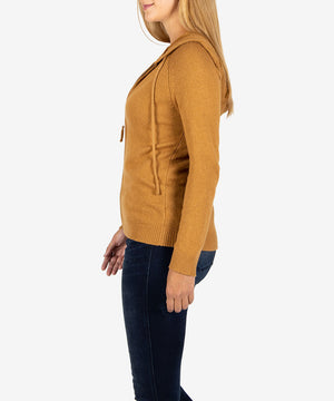 Lana Hoodie Sweater, Exclusive (Camel)-New-Kut from the Kloth