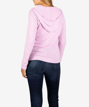 Lana Hoodie Sweater, Exclusive (Lavender)-New-Kut from the Kloth
