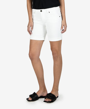 Catherine Boyfriend Short, Exclusive (White Wash)--Kut from the Kloth
