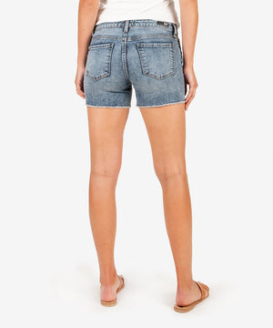 Gidget Fray Short (Reflective Wash)-New-Kut from the Kloth