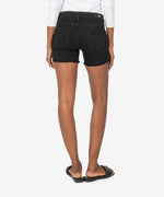Gidget Fray Short, Exclusive (Black) Hover Image
