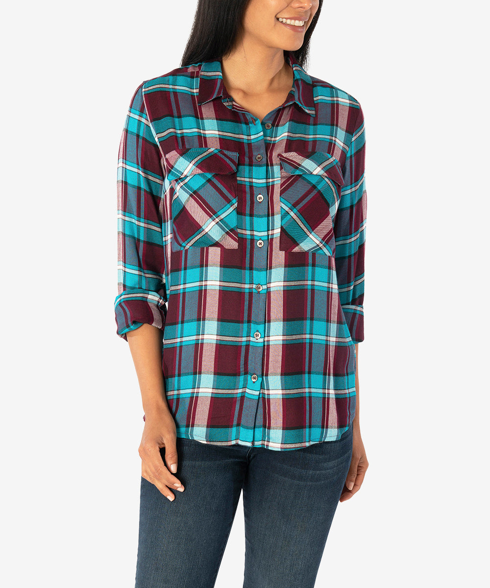 Maddy Button Up Shirt