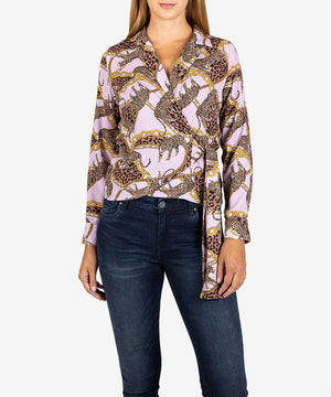 Daniela Wrap Top, Exclusive-New-Kut from the Kloth