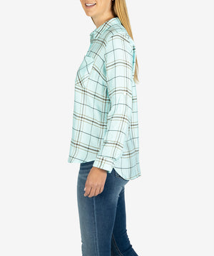 Radley Button Blouse-New-Kut from the Kloth