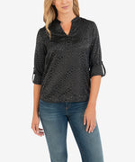 Valencia Blouse (Black) Main Image