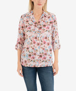 Cam Printed Tencel Blouse Main Image