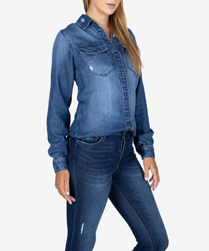 Jodie Denim Shirt, Exclusive-New-Kut from the Kloth