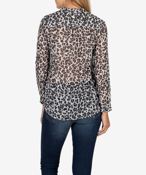 Jasmine Button Up Blouse-New-Kut from the Kloth