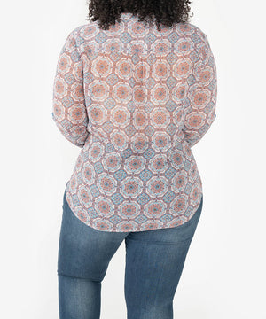 Jasmine Blouse, Plus-New-Kut from the Kloth
