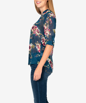 Jasmine Printed Top-New-Kut from the Kloth