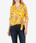 Felicity Wrap Top-Kut from the Kloth