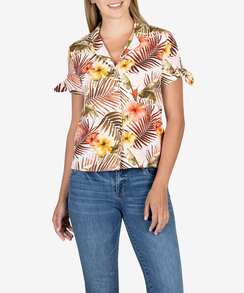 Gladys Button Down Blouse-Kut from the Kloth