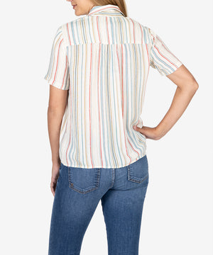 Rakel Button Down Blouse-Kut from the Kloth
