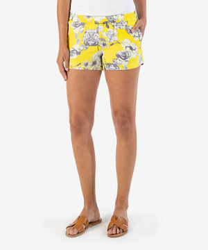 Printed Linen Short-New-Kut from the Kloth