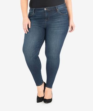 Mia High Rise Slim Fit Skinny, Plus (Moments Wash)-New-Kut from the Kloth