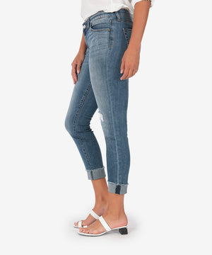 Amy Crop Straight Leg (Intended Wash)-New-Kut from the Kloth