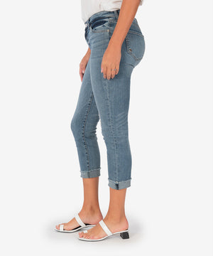 Amy Crop Straight Leg (Chosen Wash)-New-Kut from the Kloth