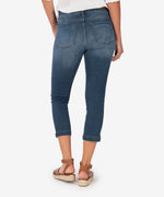 Lauren High Rise Crop Straight Leg (Crown Wash) Hover Image