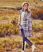 Jaclyn Plaid Coat Hover Image