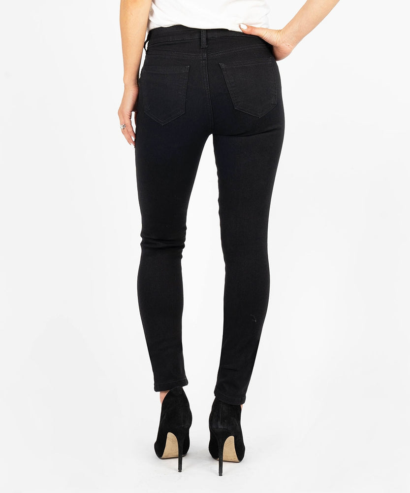 Diana Kurvy Relaxed Fit Skinny, Petite (Black)-Kut from the Kloth