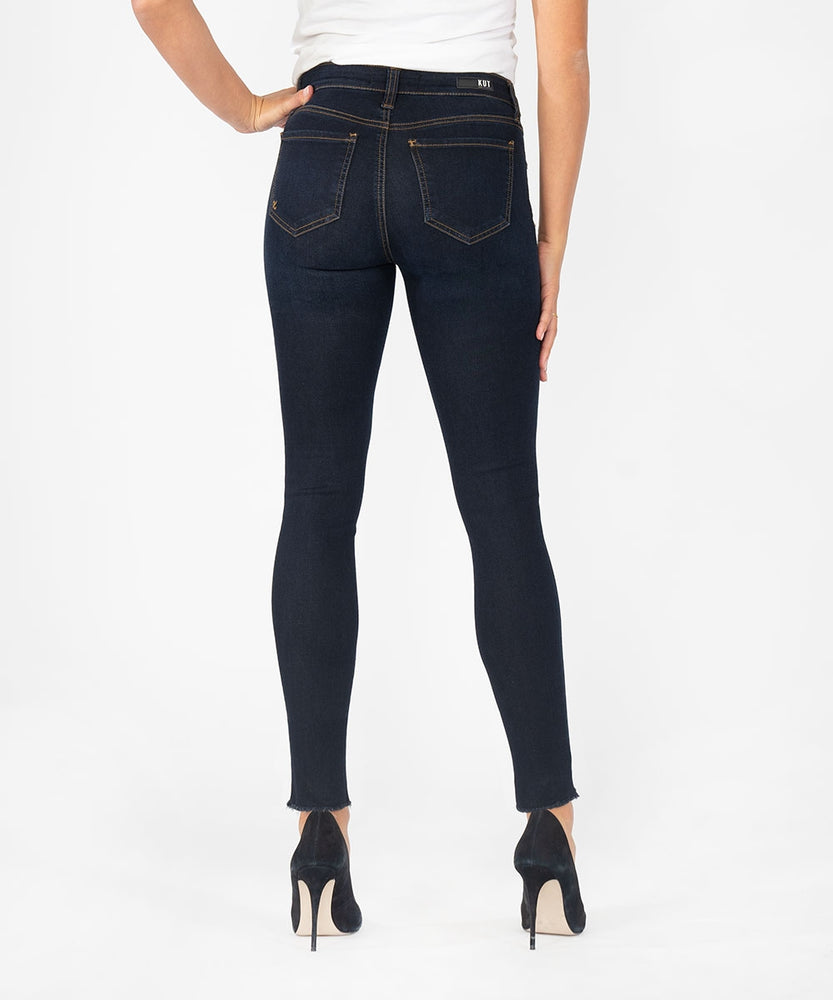 Connie Slim Fit Ankle Skinny (Sufficiency Wash)-Kut from the Kloth