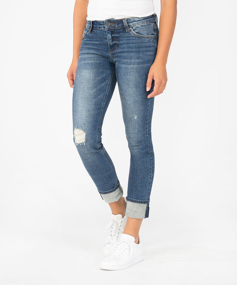 Catherine Boyfriend Wide Cuff (Palpable Wash)-Kut from the Kloth