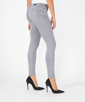 Mia Slim Fit Ankle Skinny (Grey Wash)-Kut from the Kloth