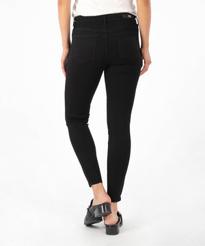 Donna Ankle Skinny, Exclusive (Black)-Kut from the Kloth