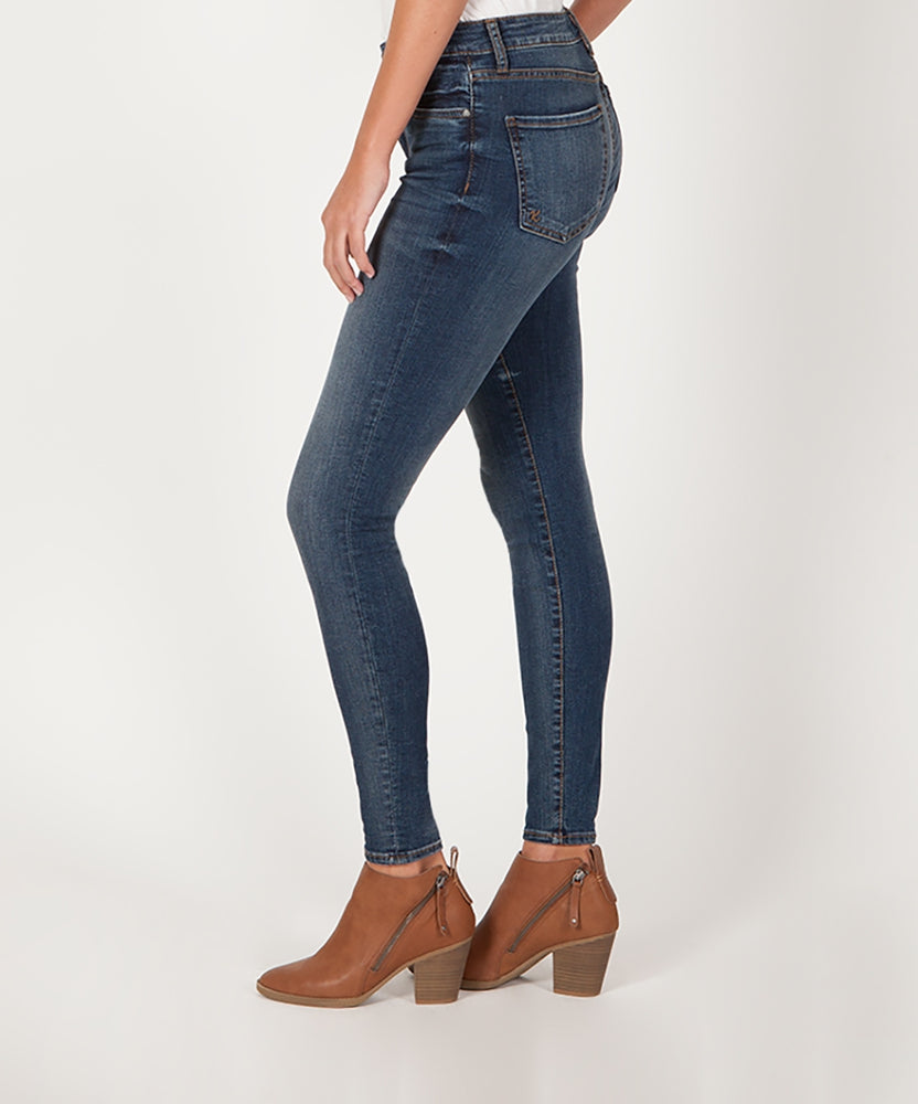 Donna High Rise Slim Skinny (Plush Wash)-Kut from the Kloth