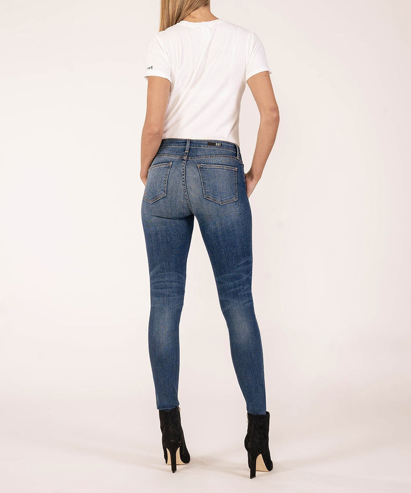 Premium Heritage Mia High Rise Slim Fit Skinny (Lombard Wash)-Kut from the Kloth