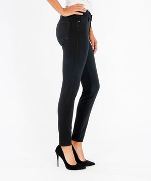 Diana Fab Ab Relaxed Fit, Exclusive (Black)-Denim-Kut from the Kloth