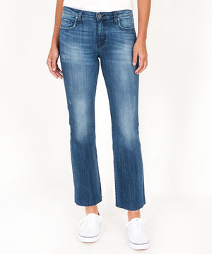 Kelsey Ankle Flare, Exclusive (Interfere Wash)-Denim-00-Interfere W/Medium Base Wash-Kut from the Kloth