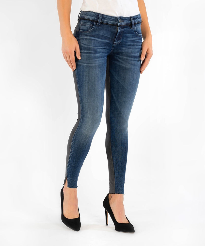 Connie Slim Fit Ankle Skinny (Transcend Wash, Exclusive)