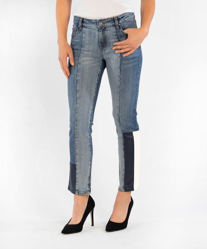 Reese Ankle Straight Leg (Exclusive, Steady Wash)