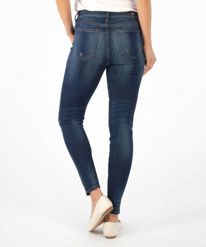 Connie High Rise Slim Fit Ankle Skinny, Exclusive (Luckily Wash)