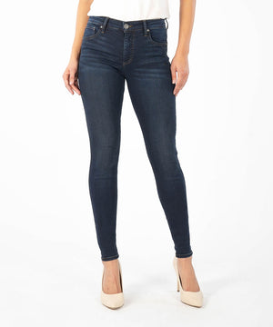 Mia Fab Ab Slim Fit Skinny (Planted Wash, Exclusive)-Denim-0-Planted W/Euro Base Wash-Kut from the Kloth