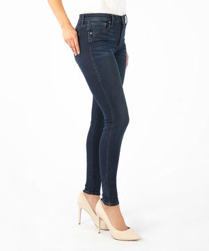 Mia Fab Ab Slim Fit Skinny (Planted Wash, Exclusive)-Denim-Kut from the Kloth