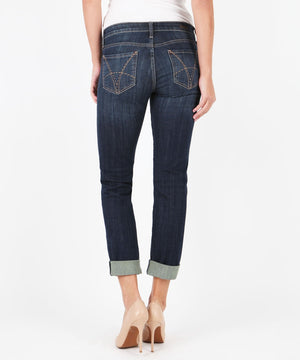 Catherine Boyfriend (Royal Wash)-Denim-Kut from the Kloth