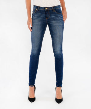Mia Slim Fit Skinny (Awareness Wash)-Denim-0-Awareness W/Medium Base Wash-Kut from the Kloth