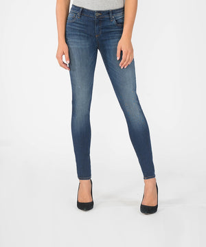 Mia Slim Fit Skinny, Long Inseam (Awareness Wash)-Denim-0-Awareness W/Medium Base Wash-Kut from the Kloth