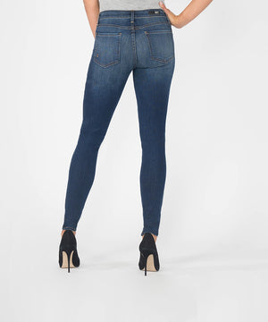 Mia Slim Fit Skinny, Long Inseam (Awareness Wash)-Denim-Kut from the Kloth
