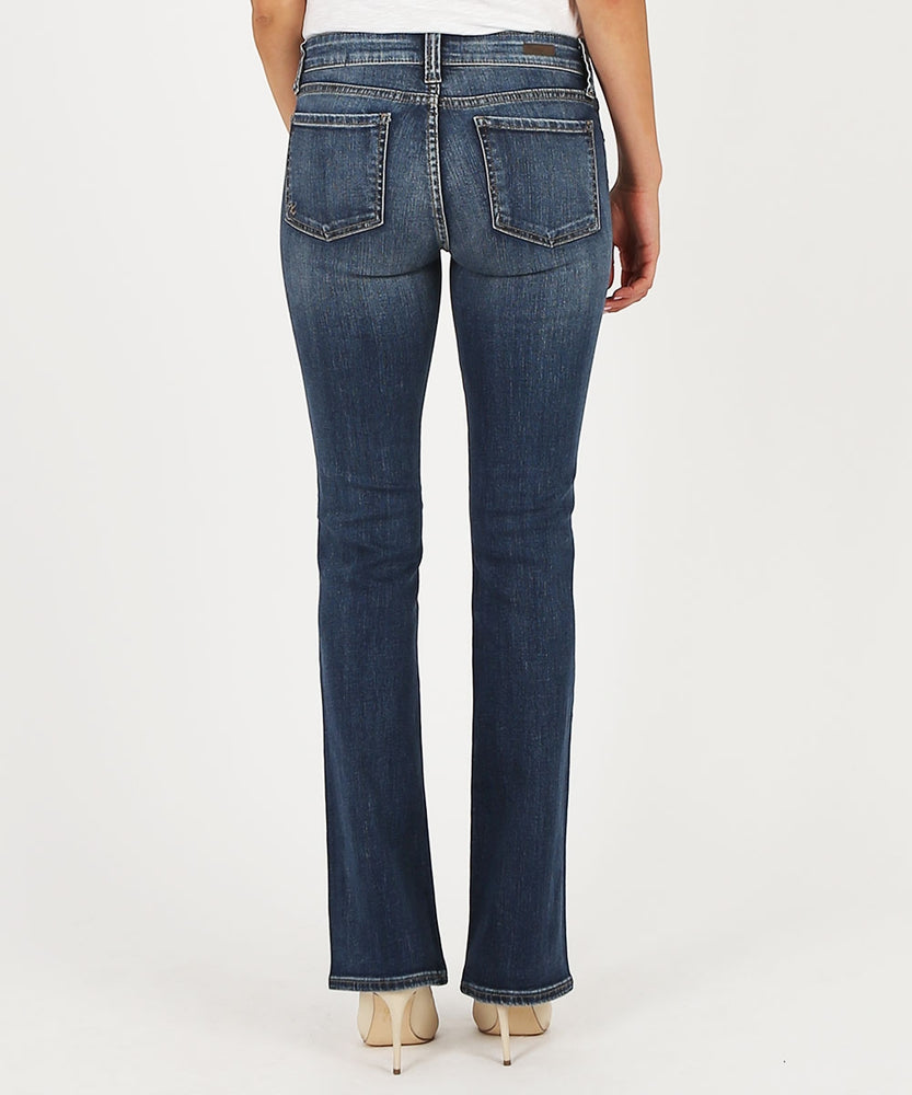 Natalie Bootcut, Short Inseam (Mindsight Wash)