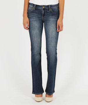 Natalie Bootcut, Short Inseam (Mindsight Wash)-Kut from the Kloth