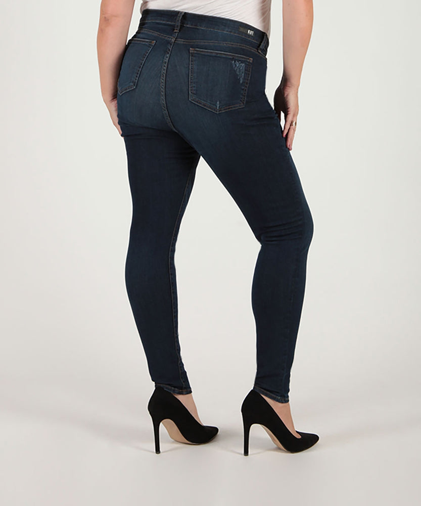 Mia High Waist Skinny, Plus (Goodly Wash)-Kut from the Kloth