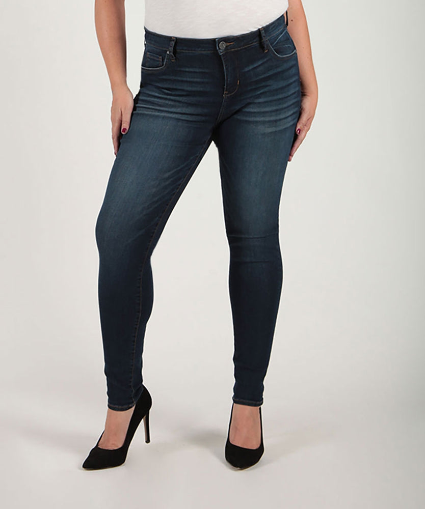 Mia High Waist Skinny, Plus (Goodly Wash)