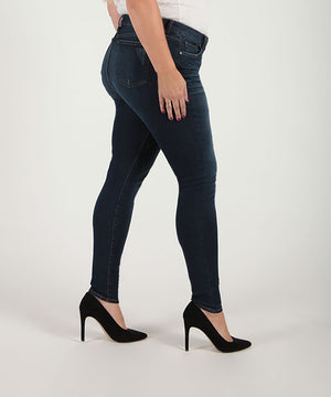 Mia High Waist Skinny, Plus (Goodly Wash)-Denim-Kut from the Kloth