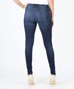 Mia High Waist Slim Fit Skinny (Goodly Wash)-Denim-Kut from the Kloth