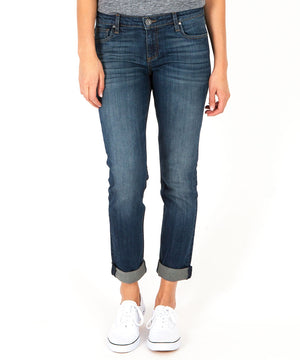 Catherine Slouchy Boyfriend, Exclusive (Presentable Wash)-Denim-00-Presentable W/Euro Base Wash-Kut from the Kloth